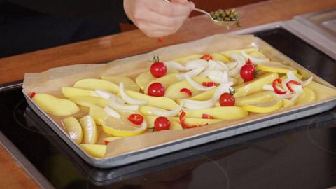 Rezept für Zitronenkartoffeln mit Guacamole von Nicole Just